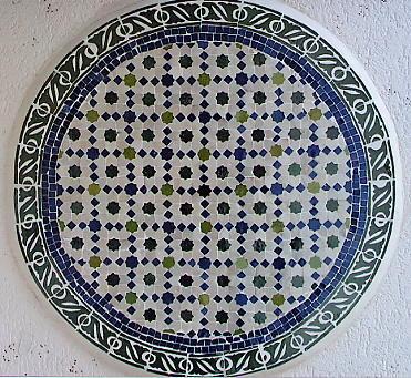 Mosa ques de zelliges du maroc for Pose mosaique murale